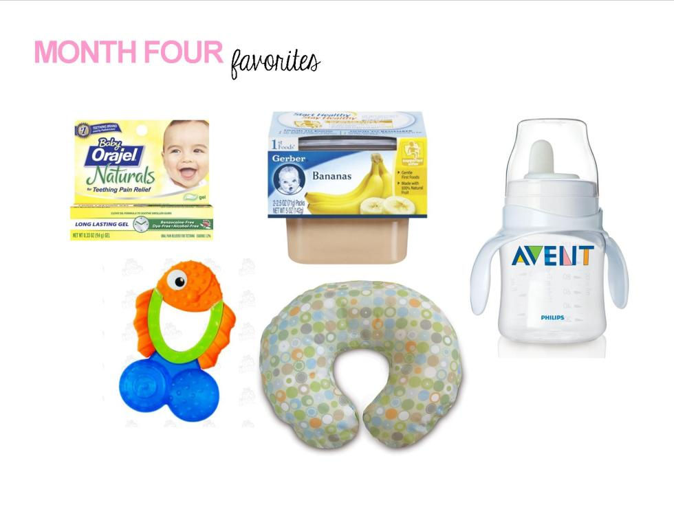 Month Four Favorites